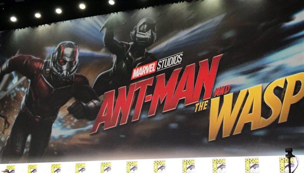 Ant-Man y The Wasp: Evangeline Lilly con su traje de Wasp