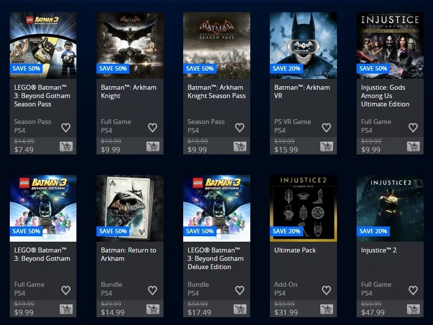 Batman Day Sale