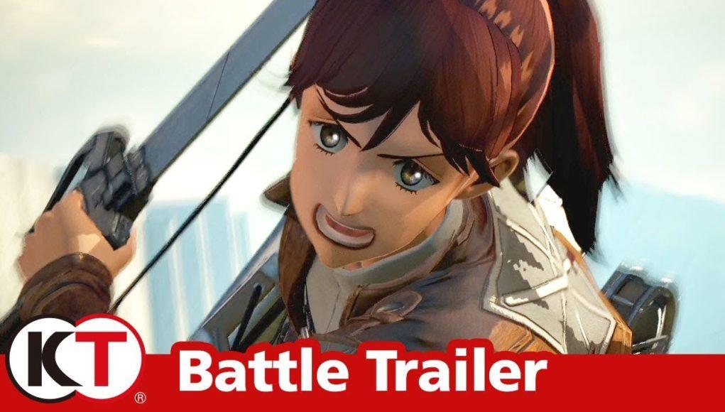 Attack on Titan 2 estrena nuevo trailer Battle Trailer