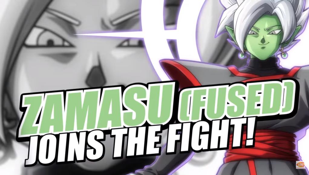Fused Zamasu se luce en el nuevo trailer de Dragon Ball FighterZ