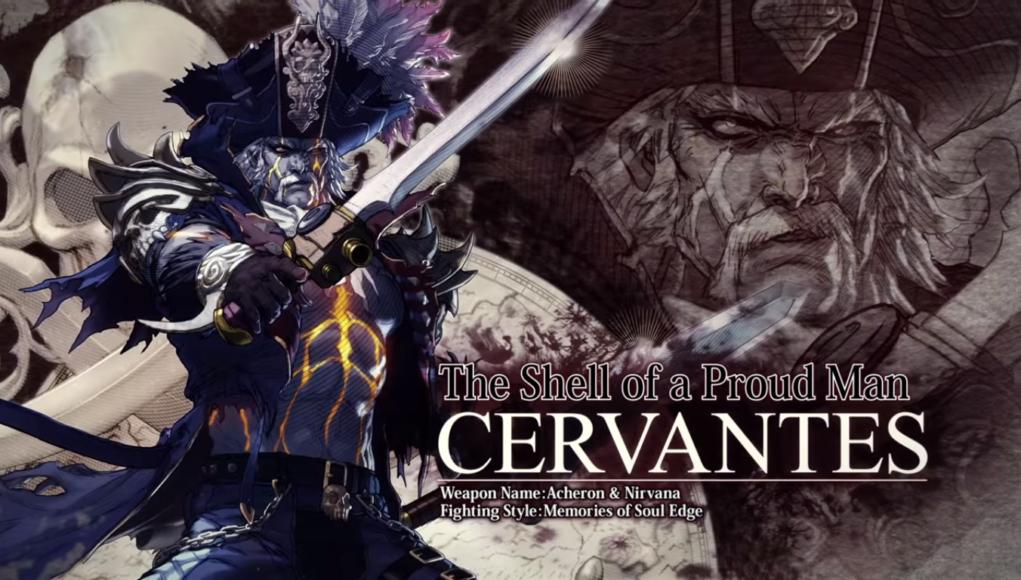 Cervantes se suma a Soul Calibur VI