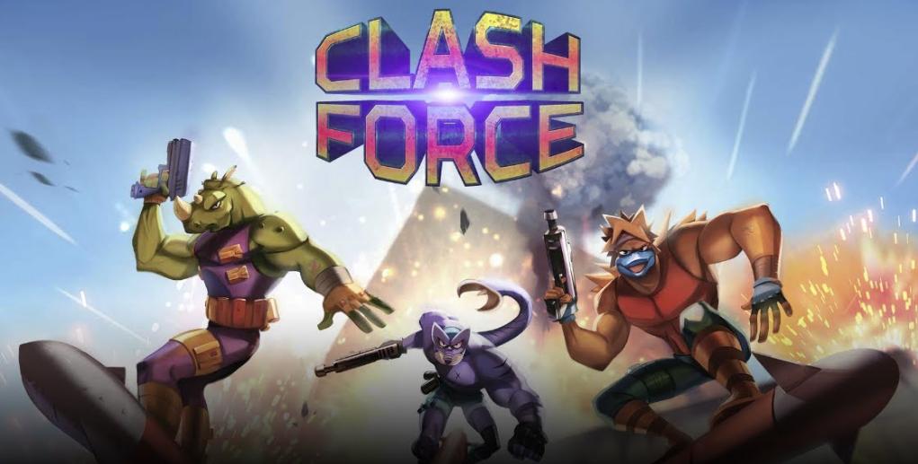 Clash Force llega a consolas esta semana