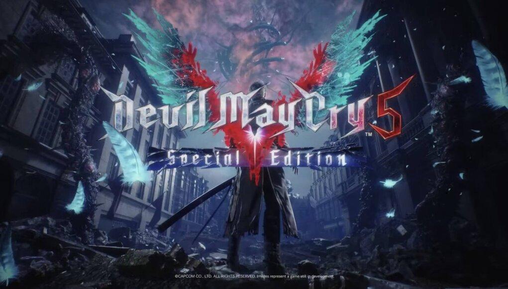 Devil May Cry 5 Special Edition presenta su trailer de lanzamiento