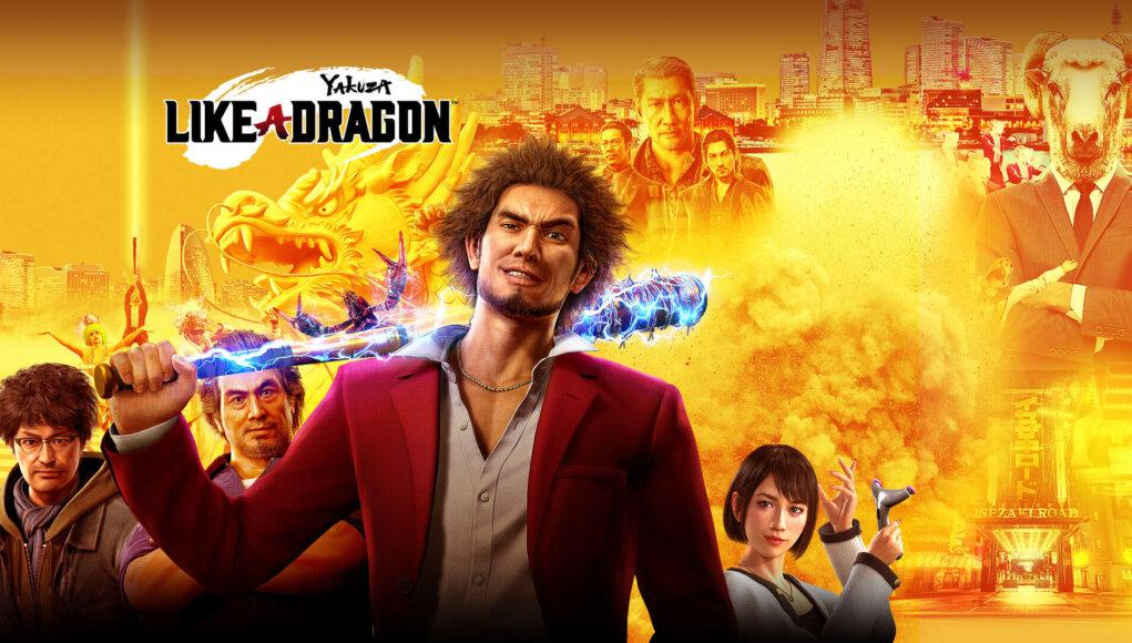 Yakuza: Like a Dragon presenta su trailer de lanzamiento