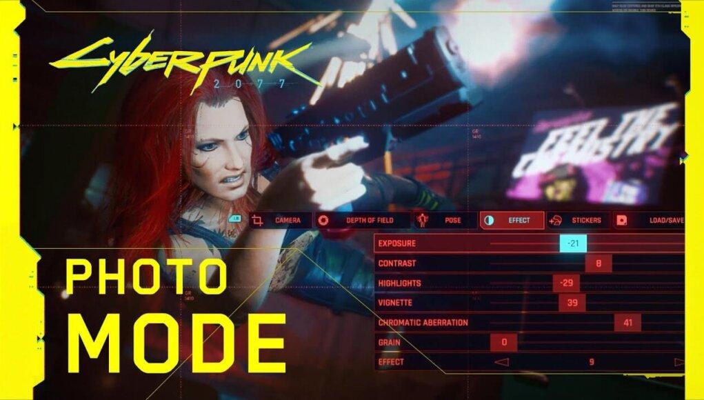Conocemos el Modo Foto de Cyberpunk 2077