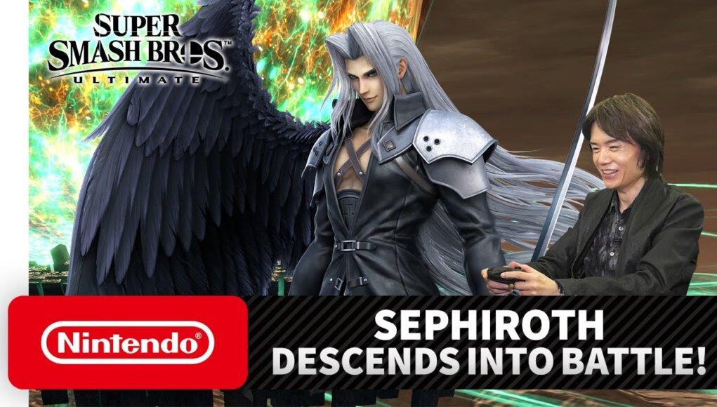 Sephiroth llegará la próxima semana a Super Smash Bros. Ultimate