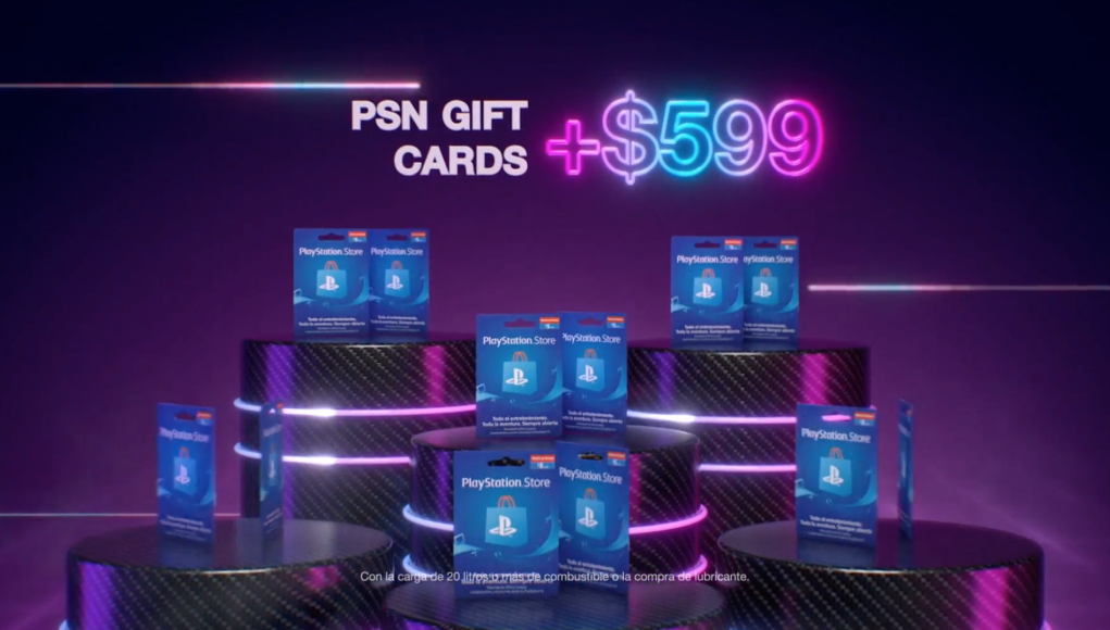 PlayStation y AXION energy anuncian una promoción exclusiva de PlayStation Store Gift Cards