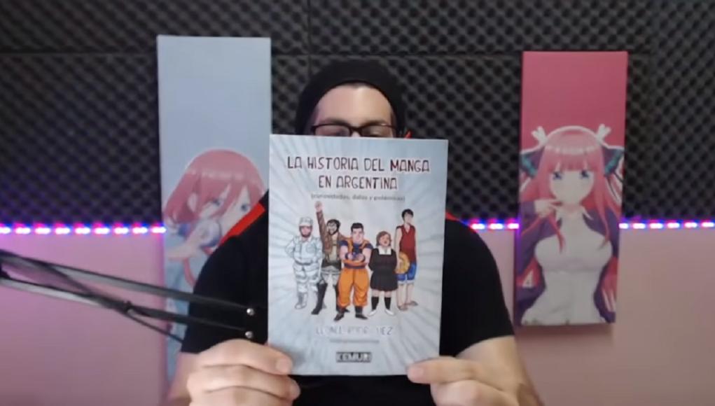 La Historia del Manga en Argentina, el primer libro de MangaTuber Leo