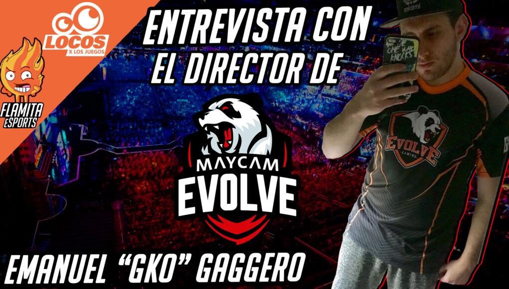 Entrevista EMANUEL MAYCAM EVOLVE
