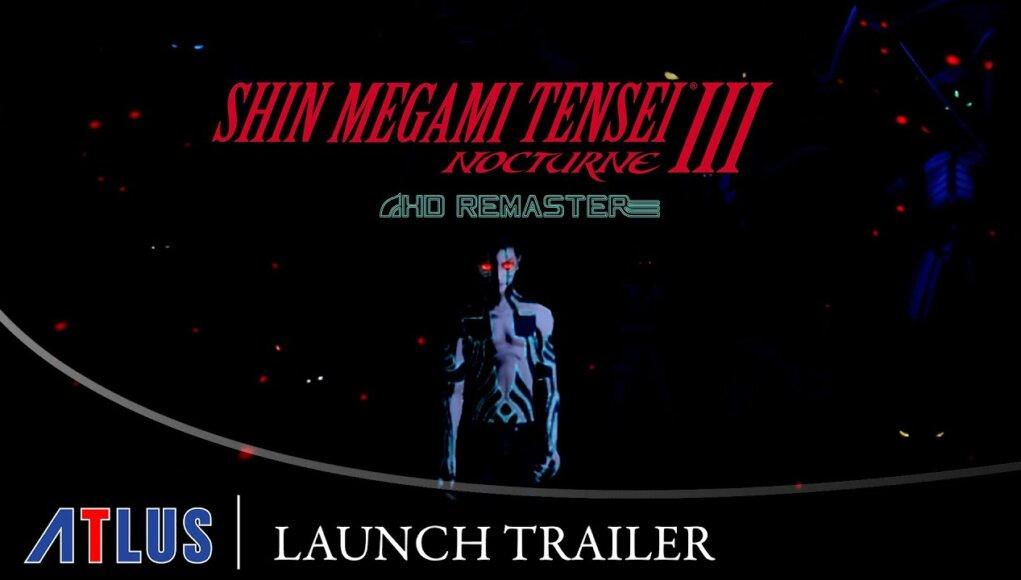 Shin Megami Tensei III: Nocturne HD presenta su trailer de lanzamiento