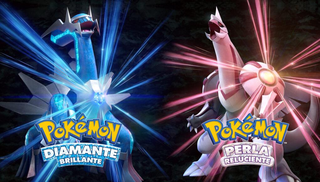 Pokémon Diamante Reluciente y Perla Brillante